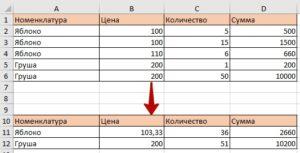 1с свернуть таблицу значений при помощи запроса